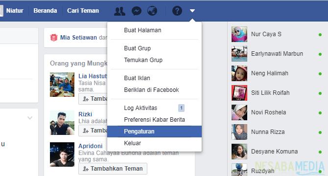 2 Cara Menonaktifkan Facebook Sementara Maupun Permanen
