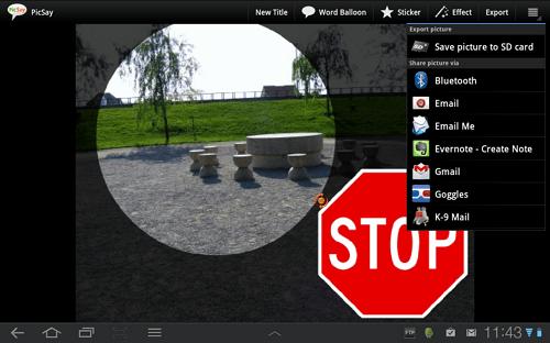aplikasi edit foto android picsay