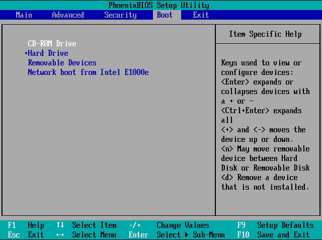 pilih cd rom drive instalasi windows 8