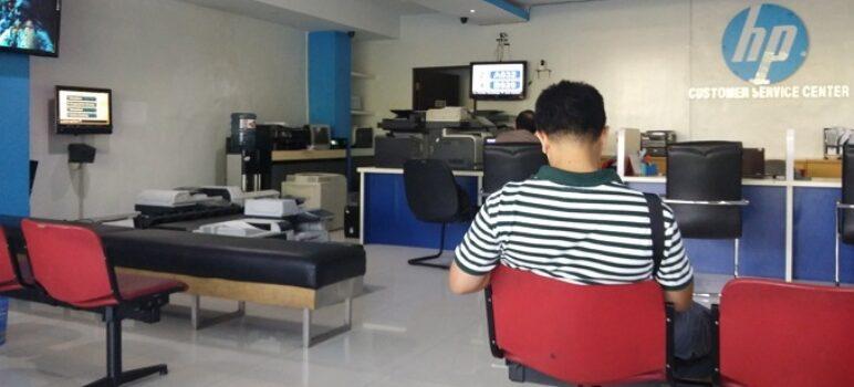 klaim garansi di service center hp