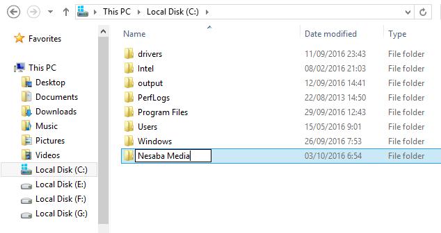 cara mengunci folder di windows