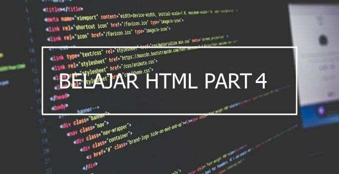Cara membuat judul (heading) di HTML