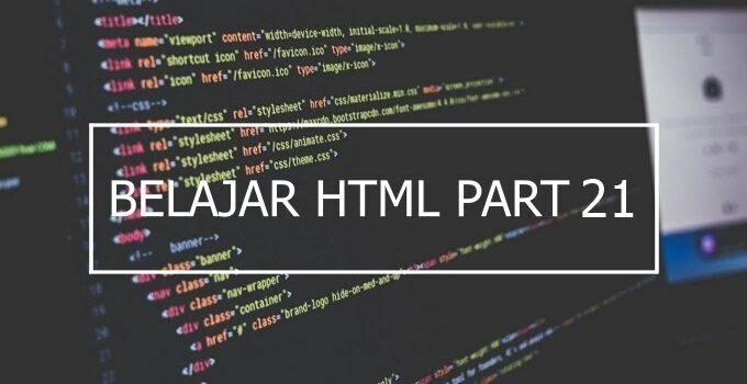 Penggunaan Atribut Bgcolor, Rules dan Border di HTML