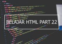 Penggunaan elemen thead, tbody dan tfoot di html