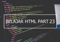 Penggunaan Tag Col, Colgroup dan Caption di HTML