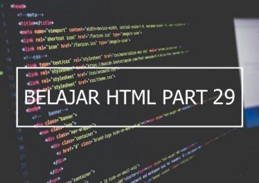Penggunaan Atribut Readonly, Disabled, Dan Target Pada Form HTML
