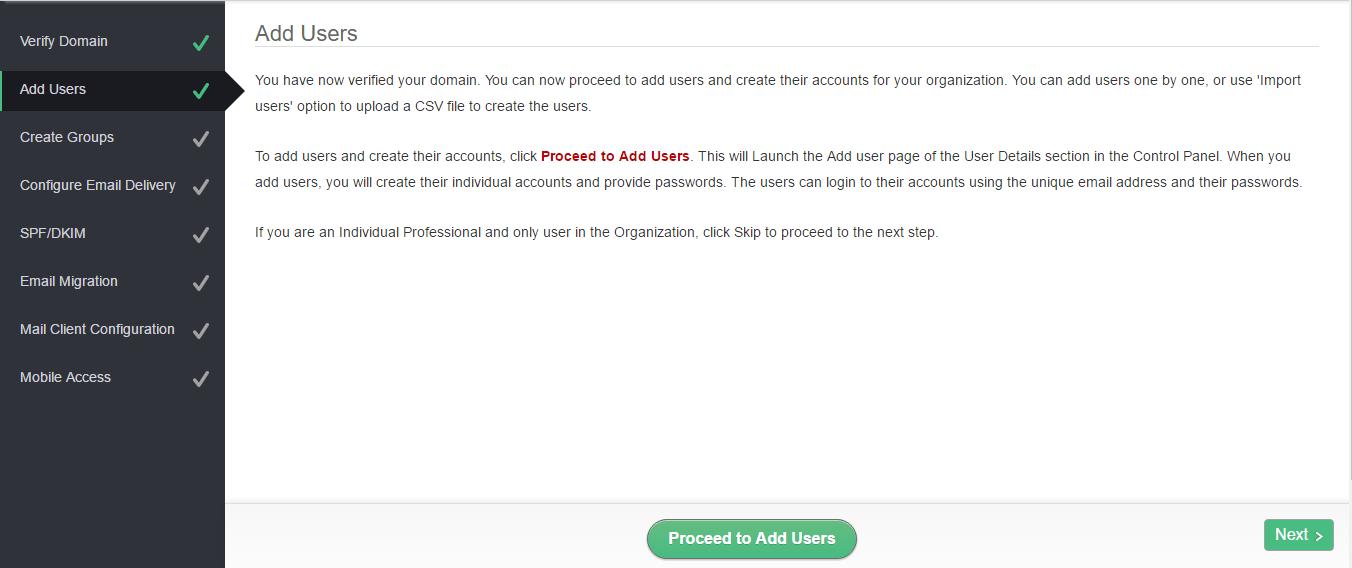 Menambahhkan user