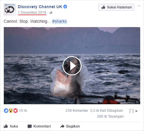 klik link tanggal video diposting