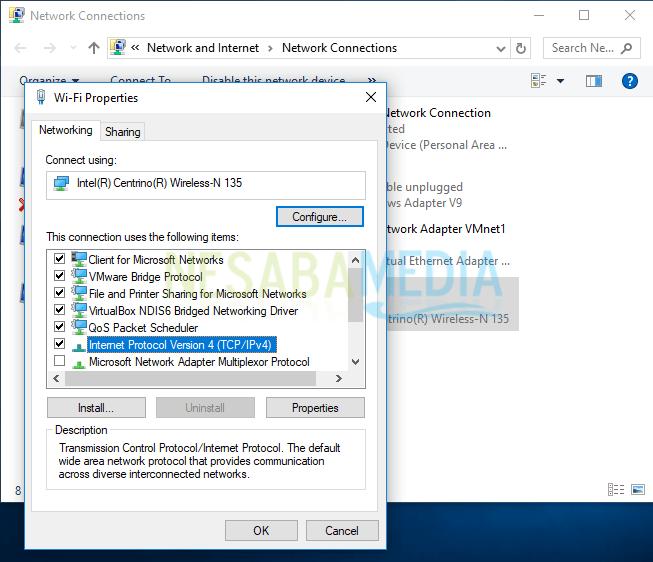 cara ganti ip address windows 8