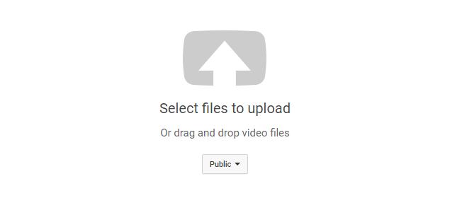 cara upload video di youtube