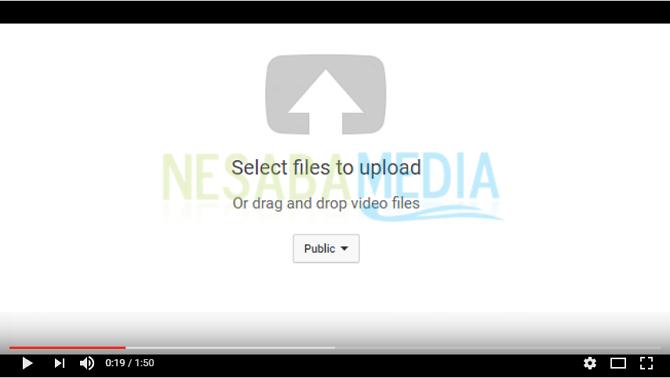 cara upload video ke youtube lewat laptop