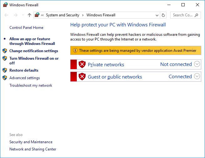 cara mematikan firewall windows 7