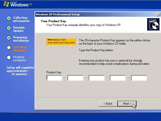 cara menginstall windows XP
