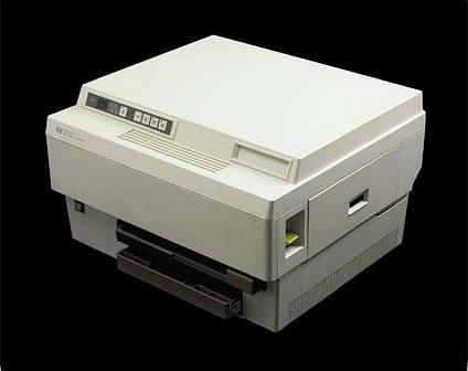 HP LaserJet pada tahun 1984
