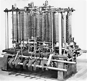 Komputer pertama (Analytical Engine) oleh Charles Babbage