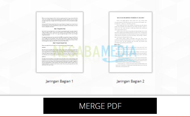 pilih Merge PDF