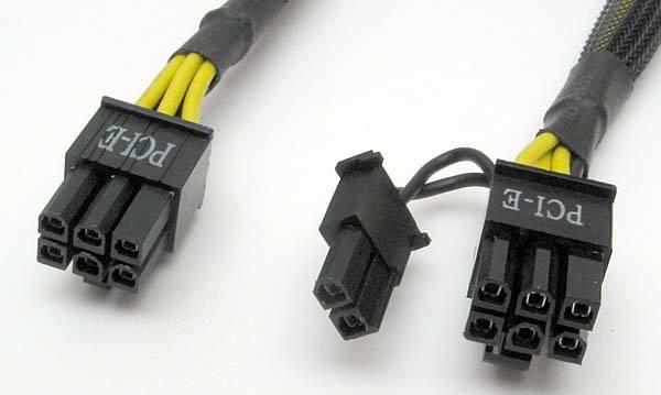 PCI-E Connector 6 Pin & 6+2 Pin