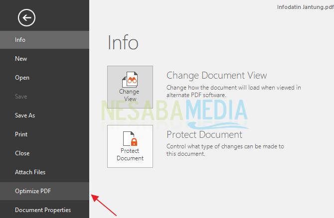 kompress PDF dengan nitro 3