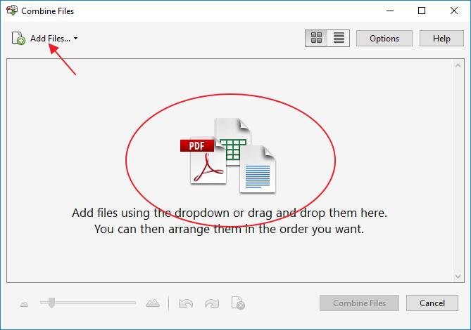 Aplikasi Penggabungan File Pdf