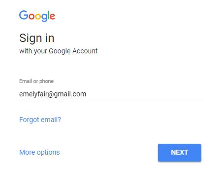 mengganti password gmail