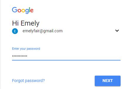 masukkan passsword anda