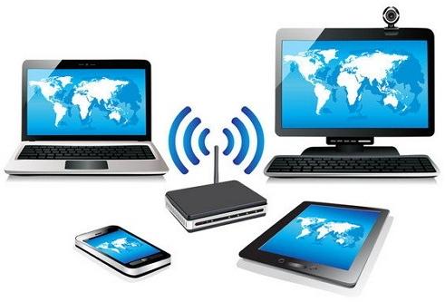 Skema sederhana jaringan wireless