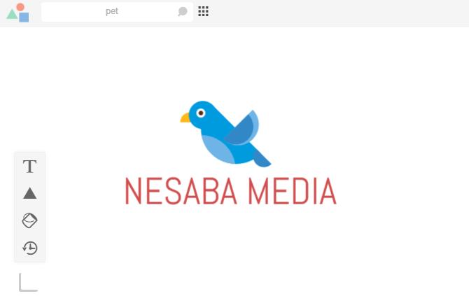 membuat logo 5