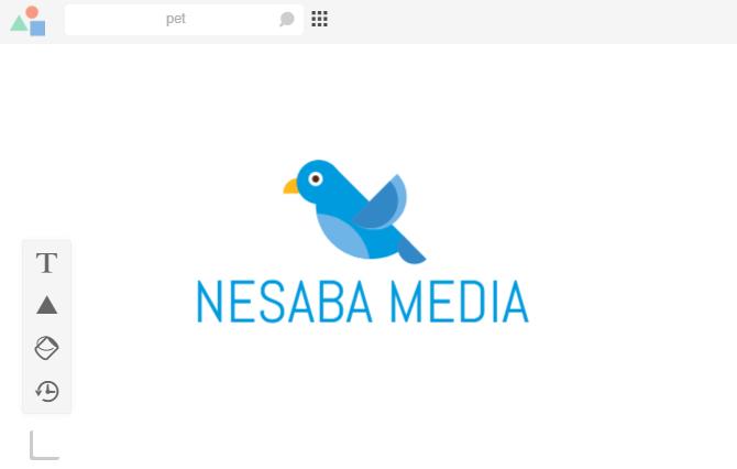 membuat logo 7
