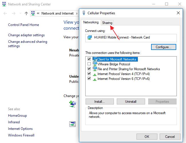 membuat hotspot di windows 8