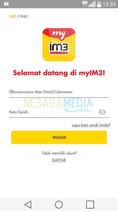Cara Cek Kuota Indosat Ooredoo / Im3