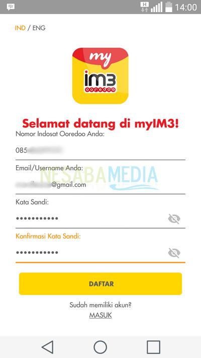Cek melalui app 2