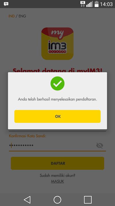 Cek melalui app 5