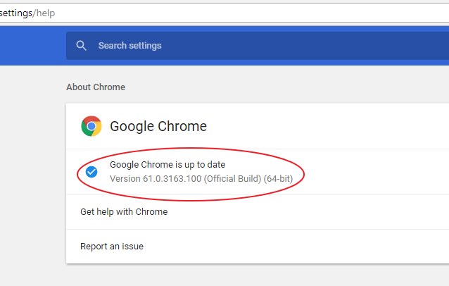 update browser chrome 2