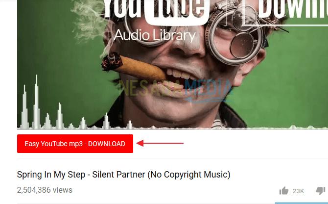 download youtube menjadi lagu