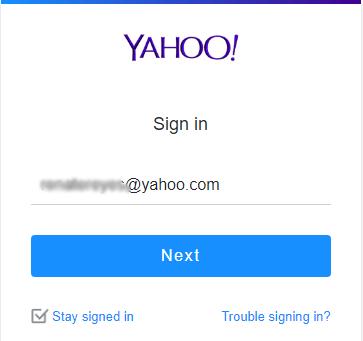 mengirim email via yahoo 1