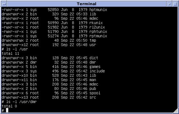 Contoh UNIX