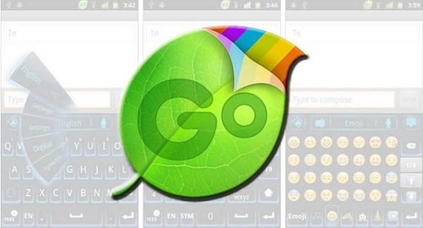 Tampilan GO Keyboard