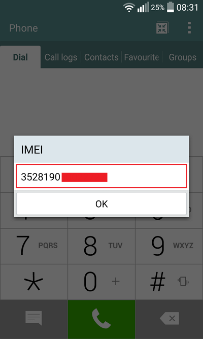 cara cek imei hp android
