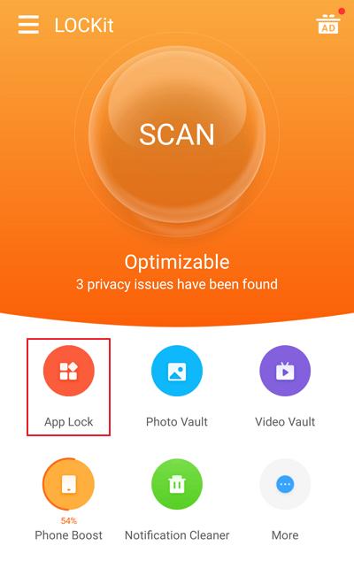 pilih App Lock