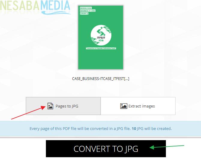 Convert to JPG