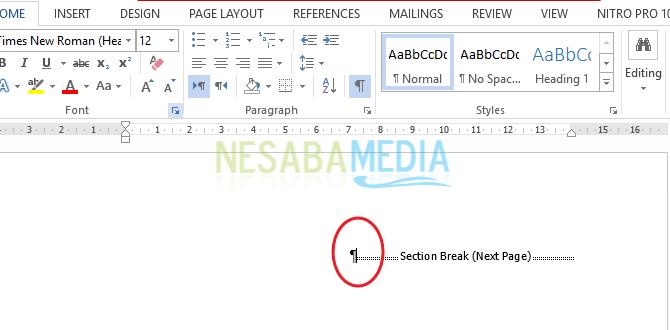 Cara Menghapus Halaman Di Microsoft Word