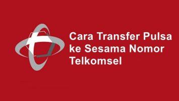 tutorial cara transfer pulsa Telkomsel / simPATI