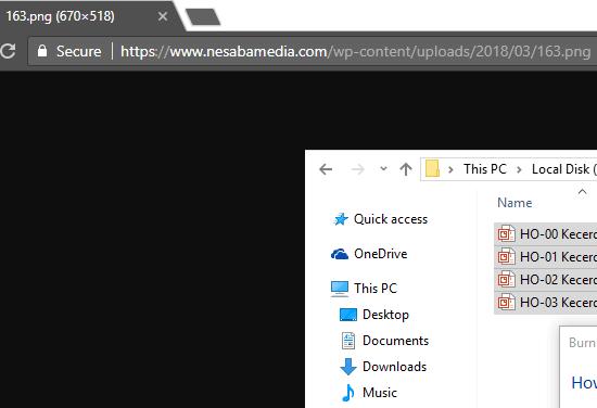 contoh URL