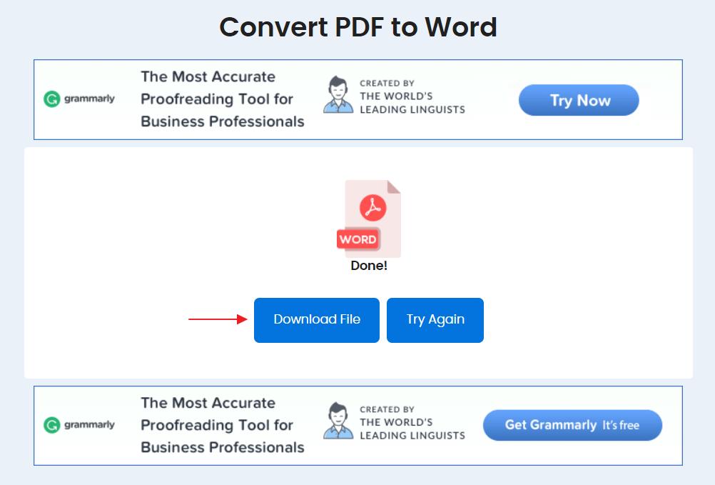 convert pdf to word dengan duplichecker 4