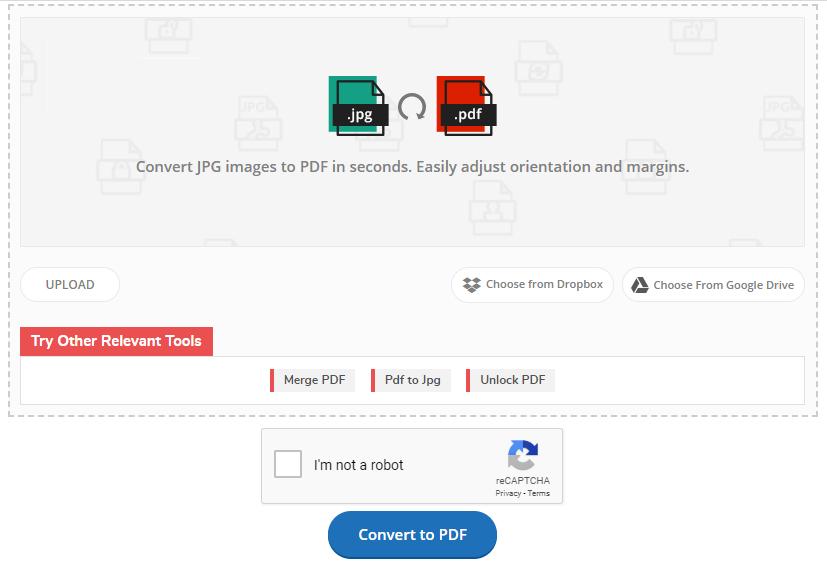 klik tombol Convert to PDF