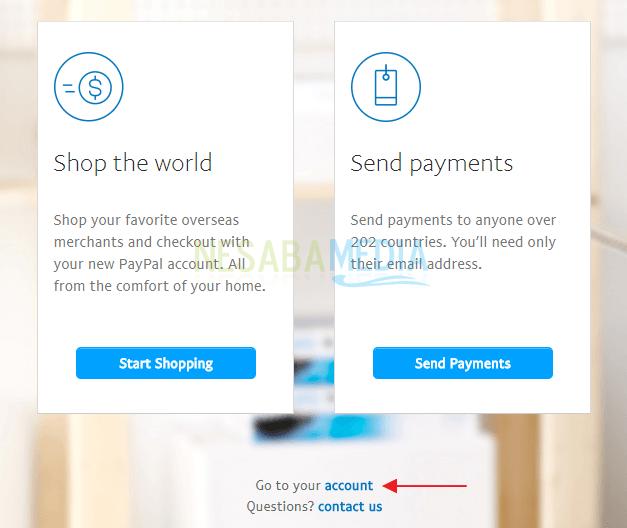 cara membuat PayPal 2018