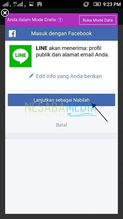 login facebook 1