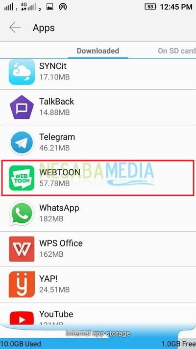 cara menghapus cache di android tanpa aplikasi