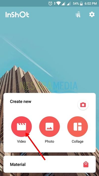 Pilih video yang ingin Anda potong