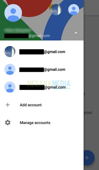 Langkah 3 - pilih gmail